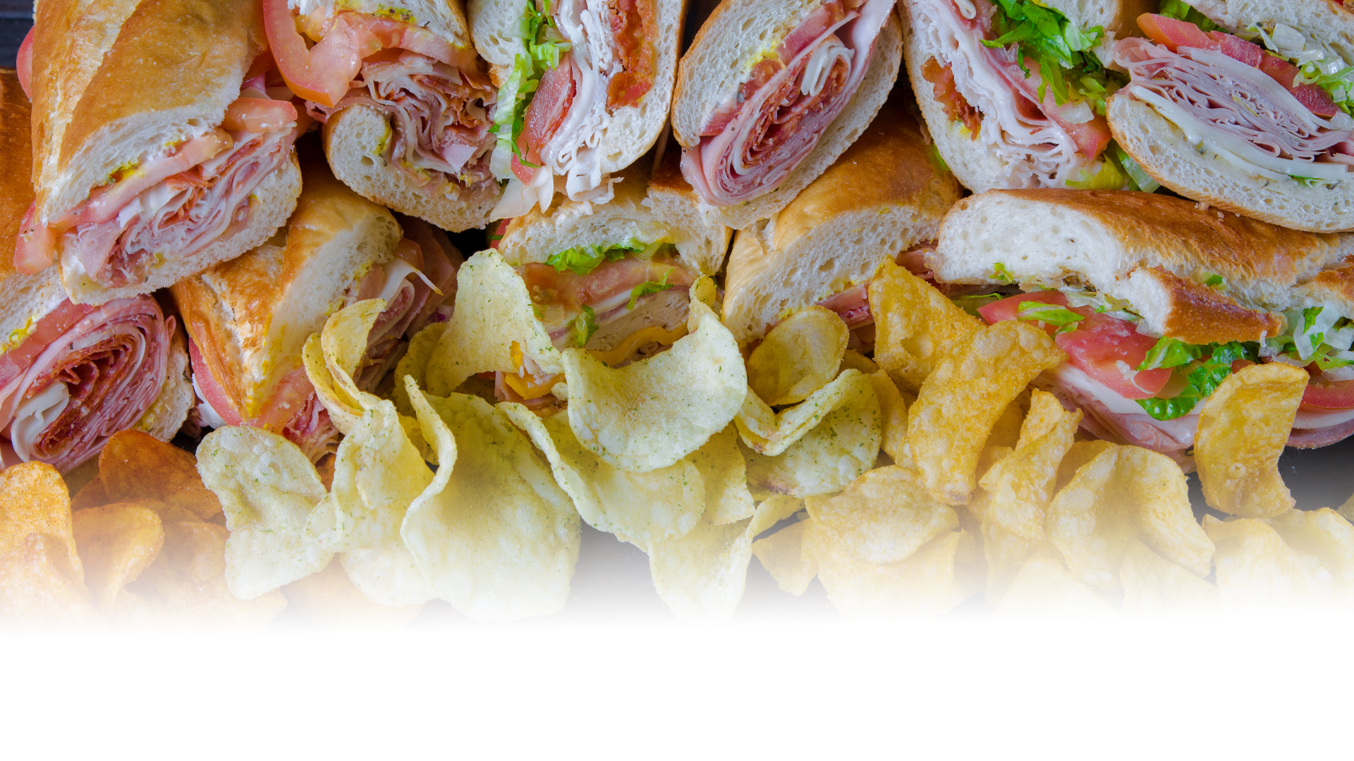 Picture of Various Sandwiches.